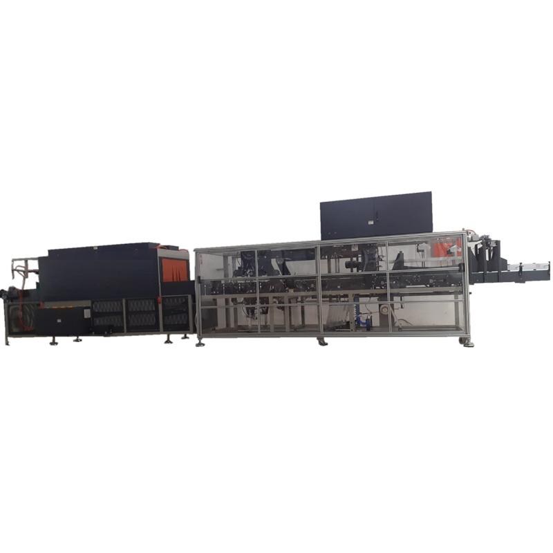 K2PE-SO Serisi Overlap Tipi Otomatik Shrink Ambalaj Makinesi